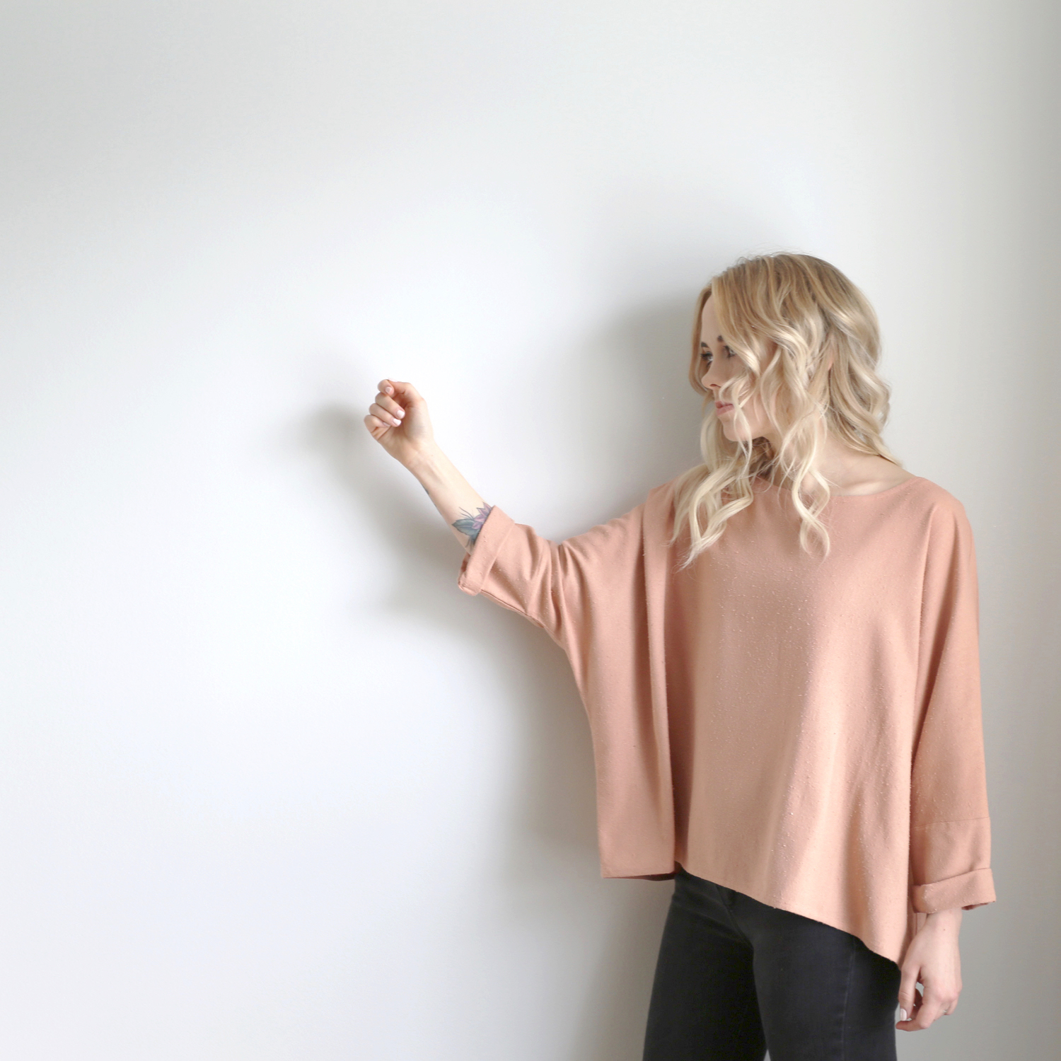 Jamie + the jones schweiz online blush rohseide